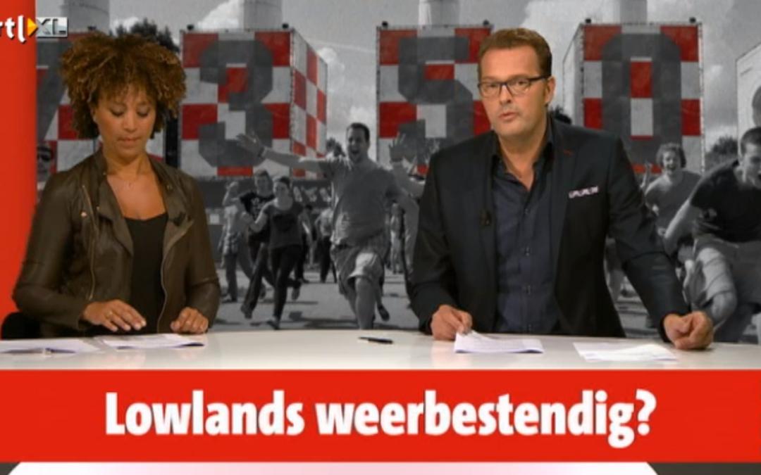 'Organisatie Lowlands staat op scherp' met beschouwing door Syan Schaap