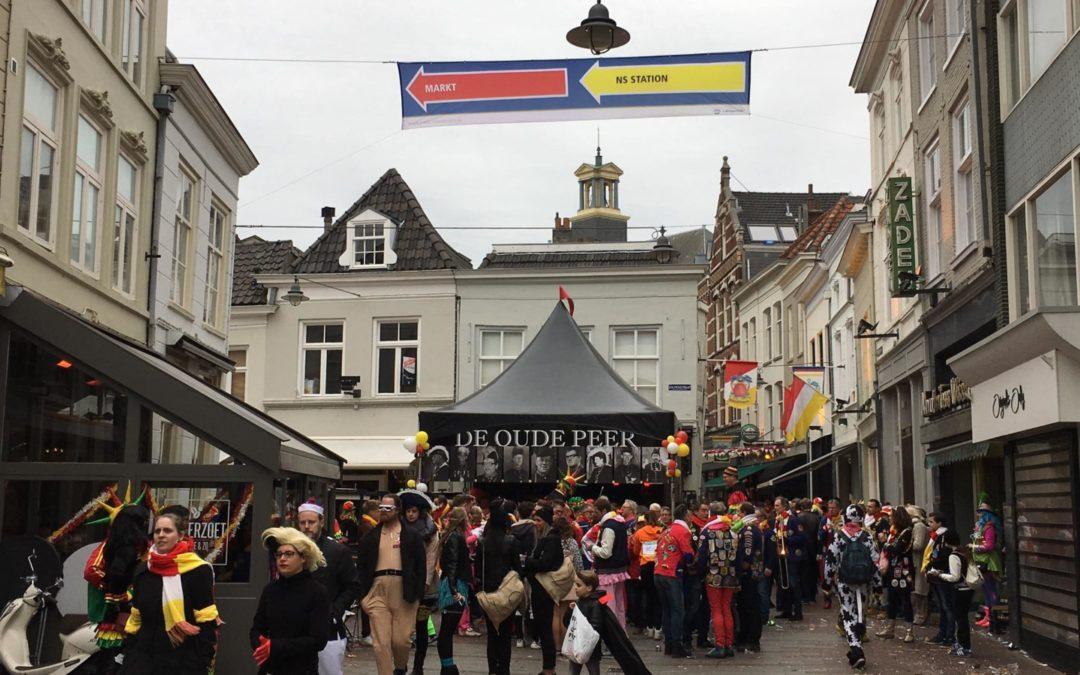 Controle over crowd management stedelijke evenementen