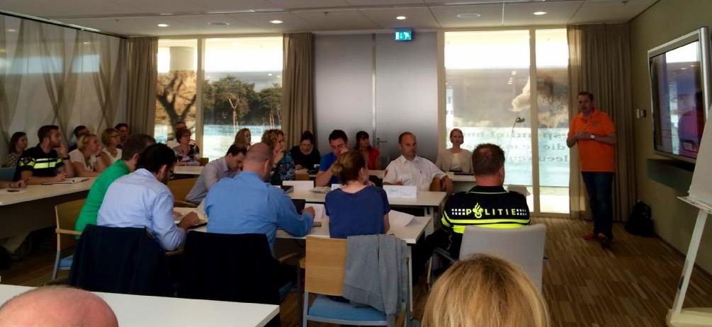 Doorleefsessie test samenwerking en crisismanagement