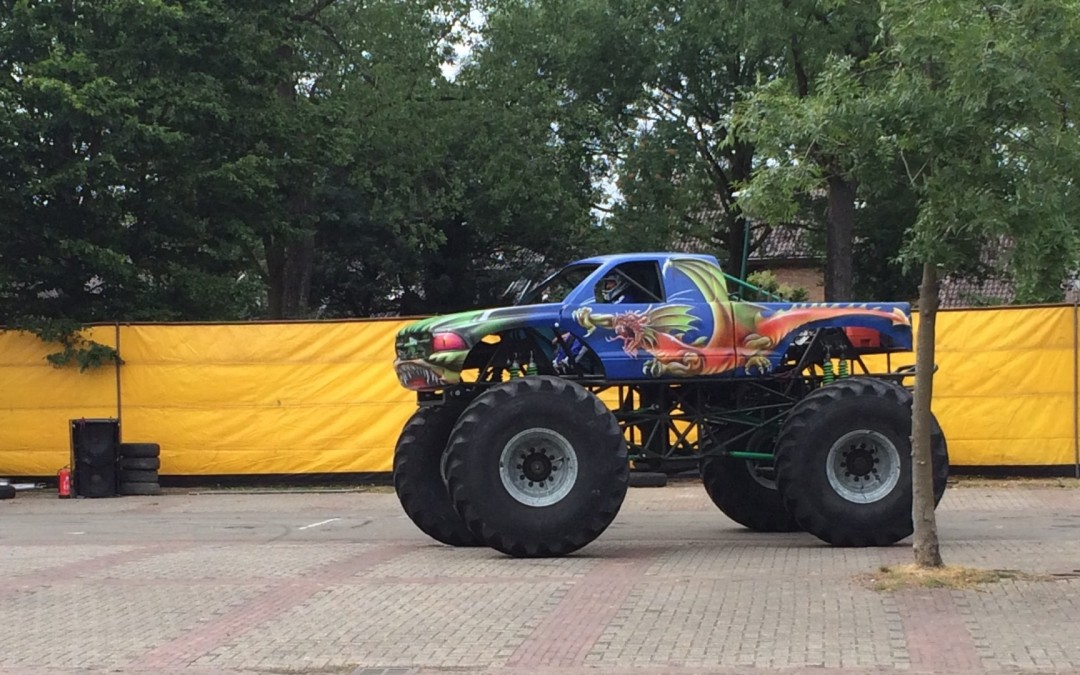 Veiligheidseisen International Monster Truck Racing Association