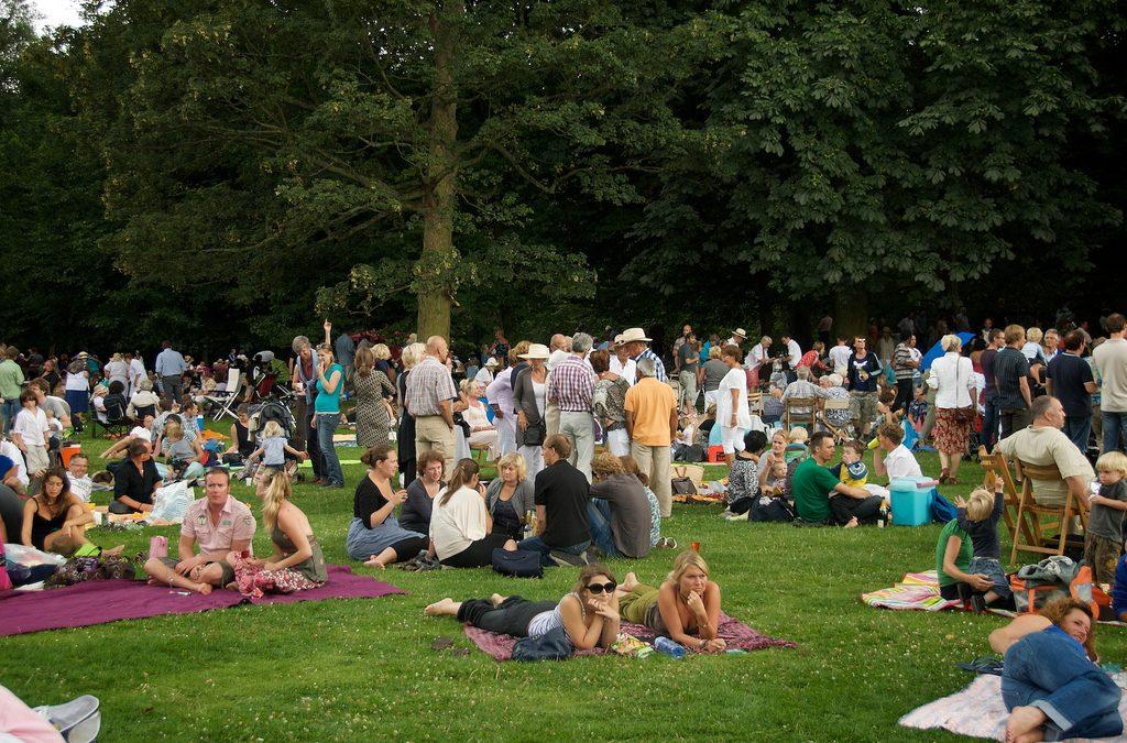Gaan festivals belasting betalen per bezoeker?