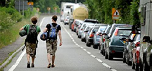 Mobiliteit bij evenementen: vervoer en bereikbaarheid