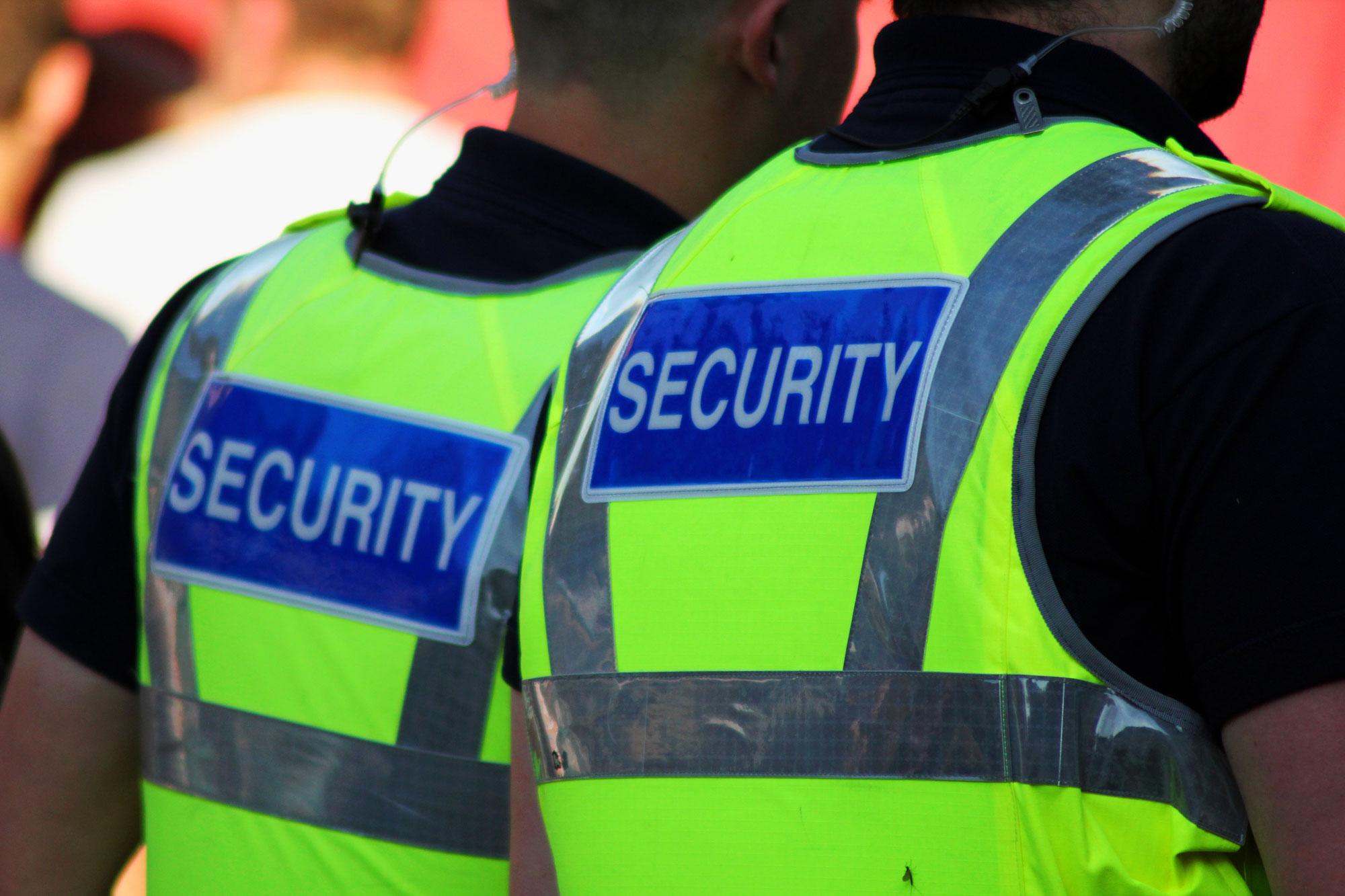 Private veiligheidszorg en beveiliging