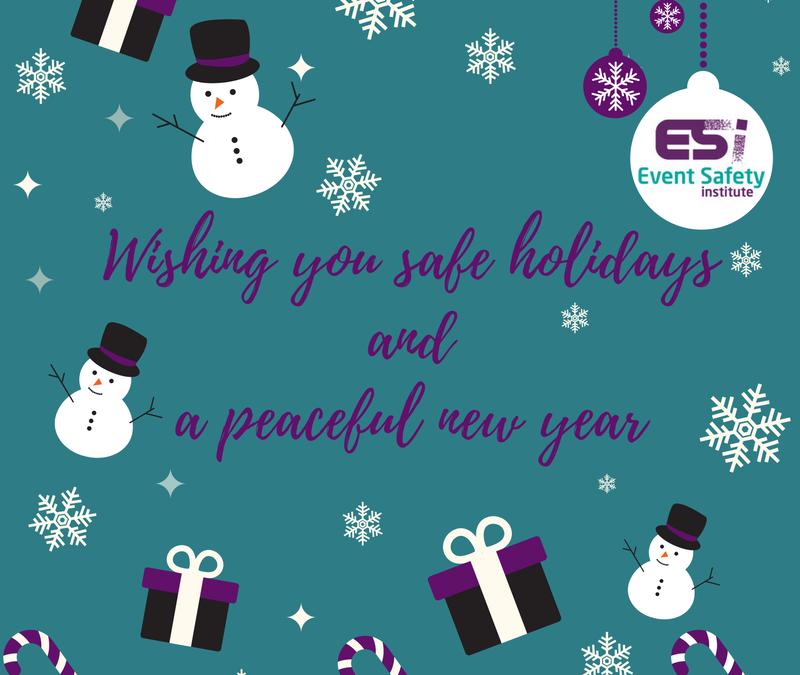 Event Safety Update | December 2016