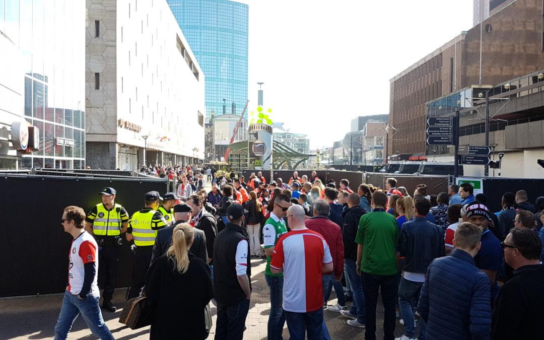 Het ultieme feest na 18 jaar: crowd management bij het kampioenschap van Feyenoord