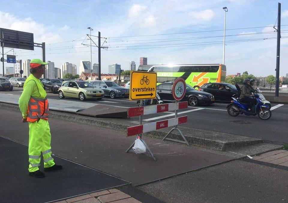 Hoe goed zijn verkeersregelaars voorbereid op hun taak?