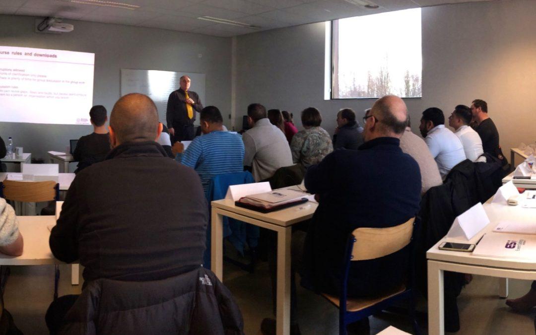 Volle klas bij eerste cursus Crowd Safety and Risk Analysis in België