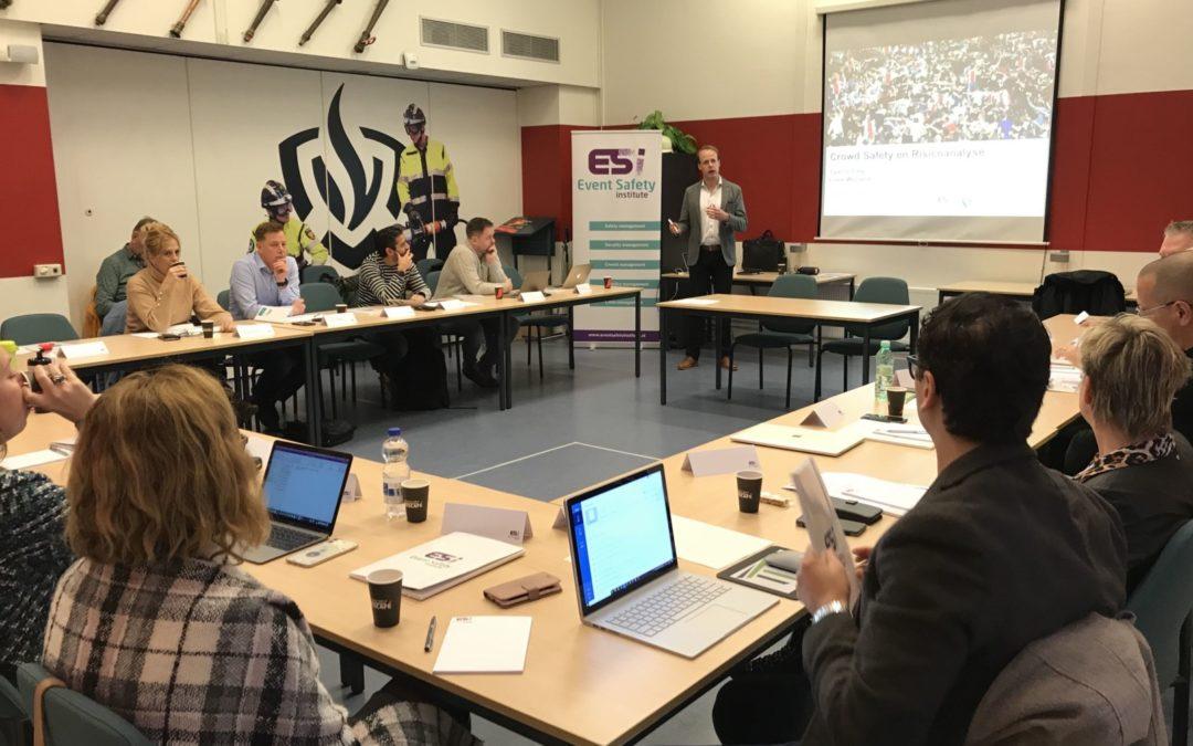 ESI presenteert Leergang evenementenveiligheid 2020