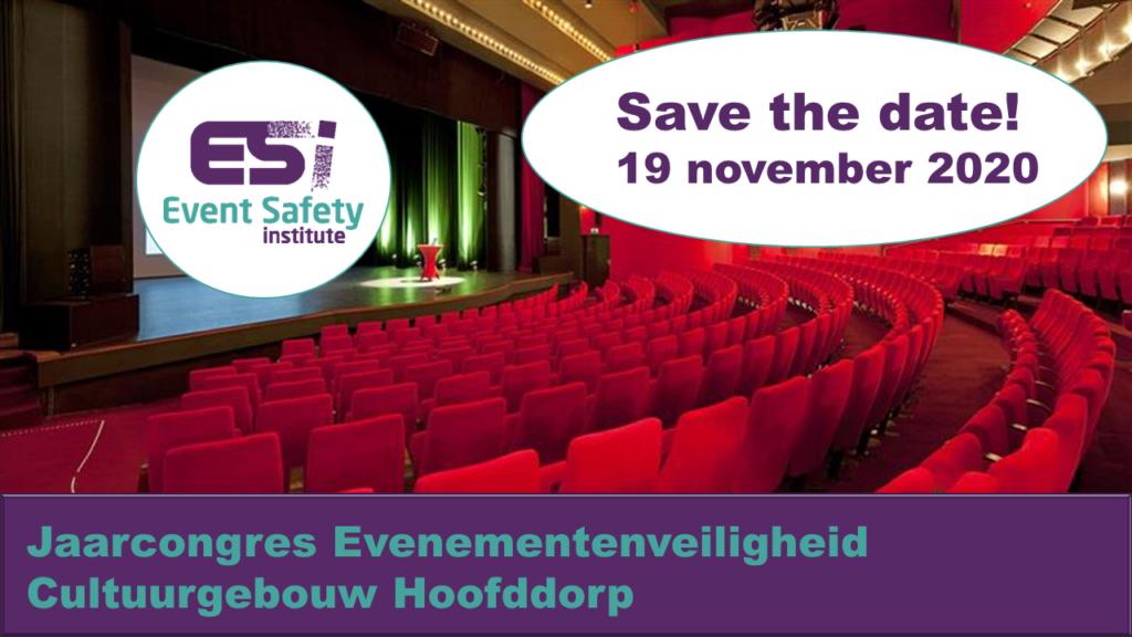 Save the date advertentie voor het jaarcongres
