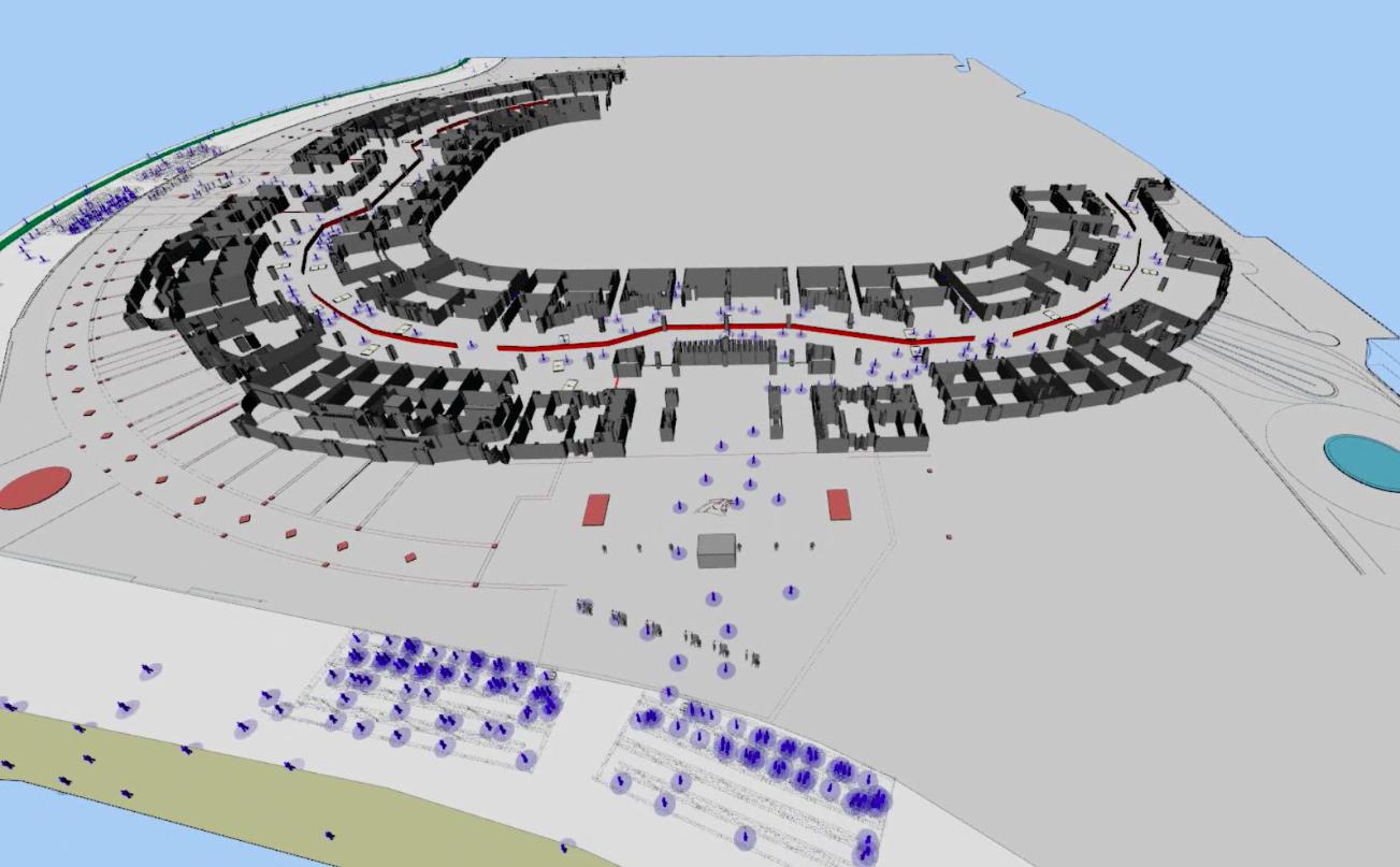 Gebruik van simulatiesoftware bij het oplossen van veiligheidsvraagstukken