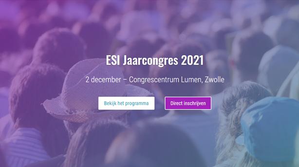 ESIJaarcongres 2021: Voordenken over veiligheid