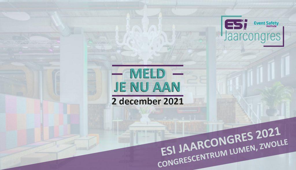 Meld je nu aan voor het ESI Jaarcongres
